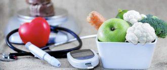 Диета стол 9 при сахарном диабете: что можно и что нельзя.