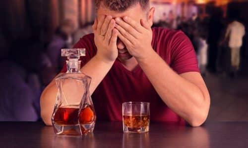 Рекомендуется воздерживаться от употребления алкогольной продукции
