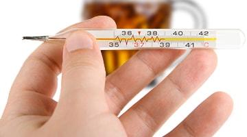 Можно ли пить пиво при температуре