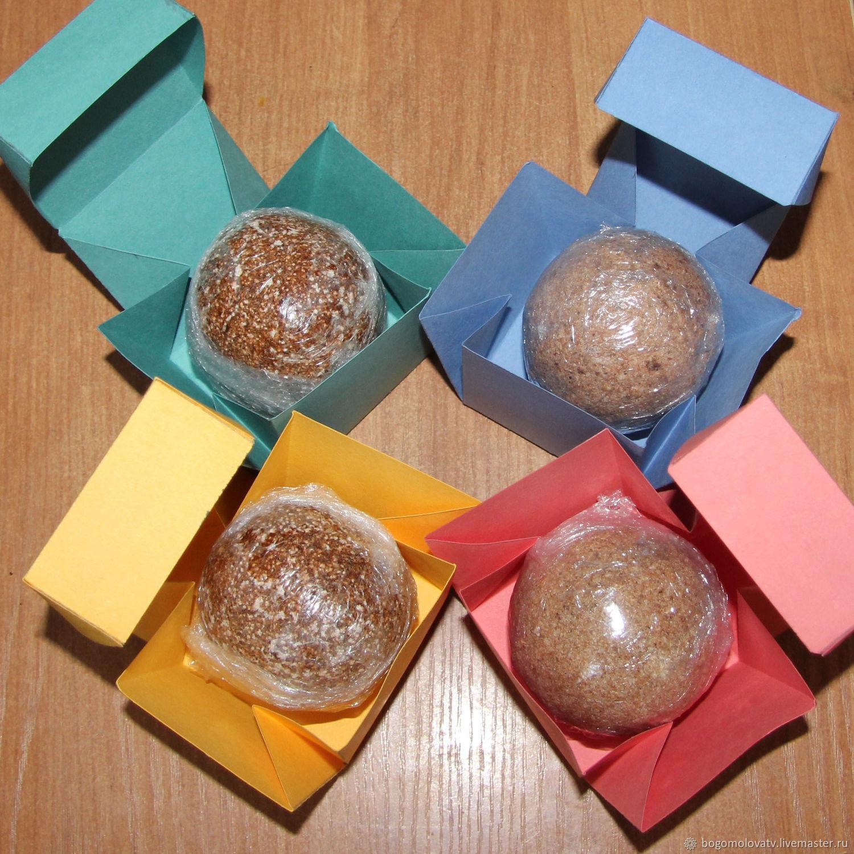 Шоколадная бомбочка для ванны