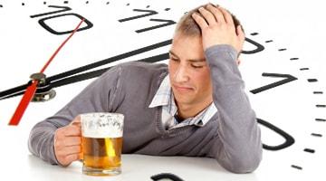 Сколько держится пиво в организме