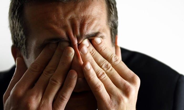 Препарат может провоцировать размытость изображения, сопровождаемую головной болью и сухостью глаз