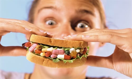 Прием пищи оказывает негативное влияние на процесс абсорбции главного компонента