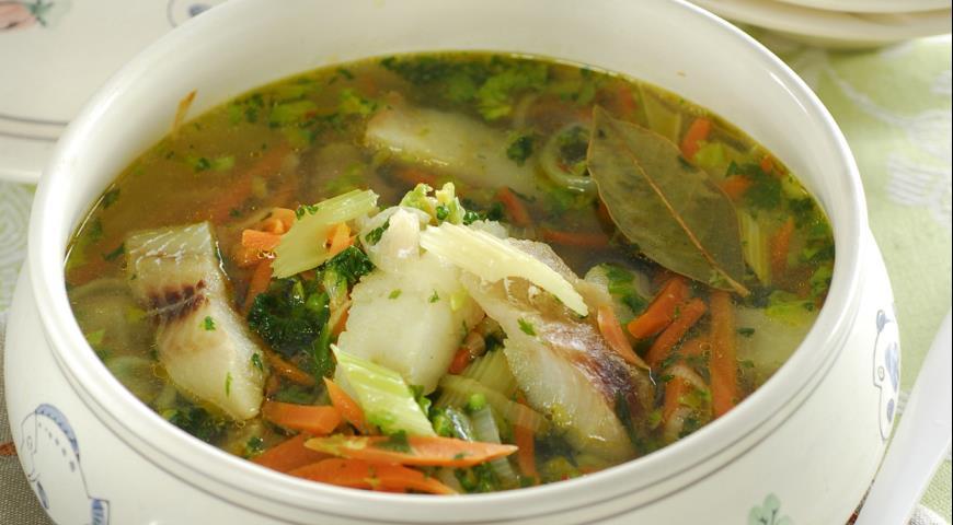 рыбный диетический суп