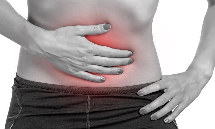 Во время применения препарата пациента может беспокоить болевой синдром в животе