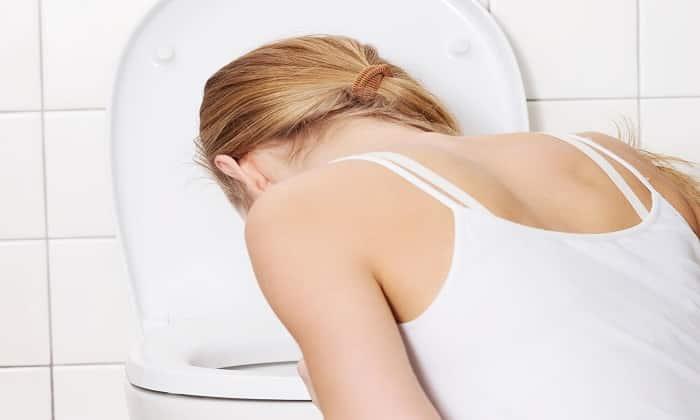 Берлитион может стать причиной тошноты и рвоты