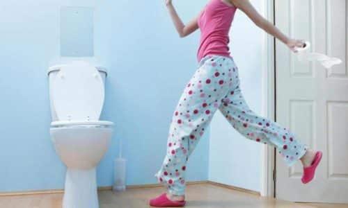 При превышении рекомендованной дозировки возможно появление диареи и расстройств акта дефекации