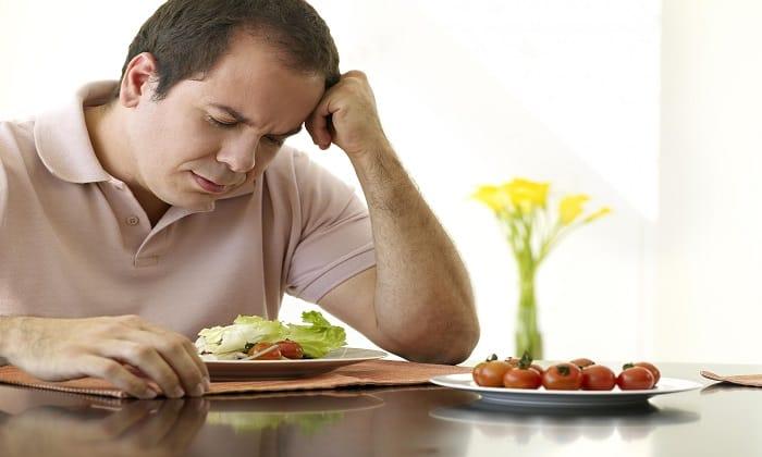 Глимекомб может провоцировать снижение аппетита
