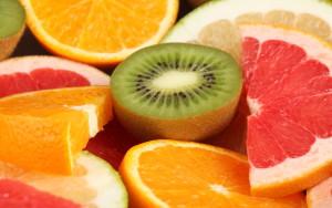 грейпфрут и киви