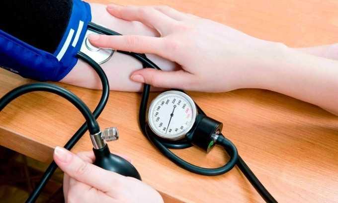 У человека, который принимает Мертенил, может увеличиться артериальное давление