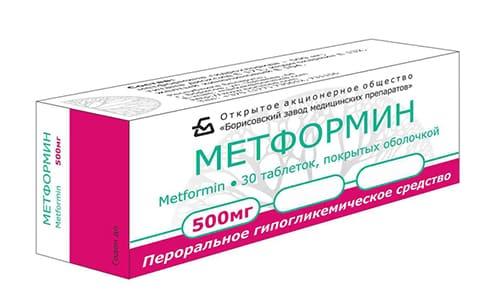 В связи с возможным риском появления гипогликемии необходимо контролировать уровень сахара при терапии Метформином