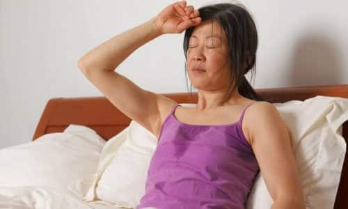 Повышенное потоотделение - один из признаков передозировки препаратом