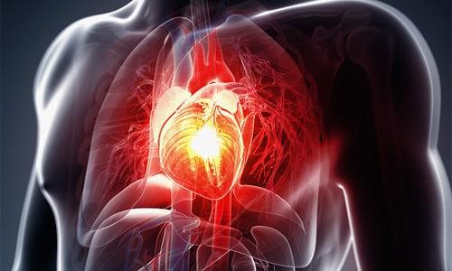 При сердечных патологиях препарат минимизирует застойные явления в системе кровообращения