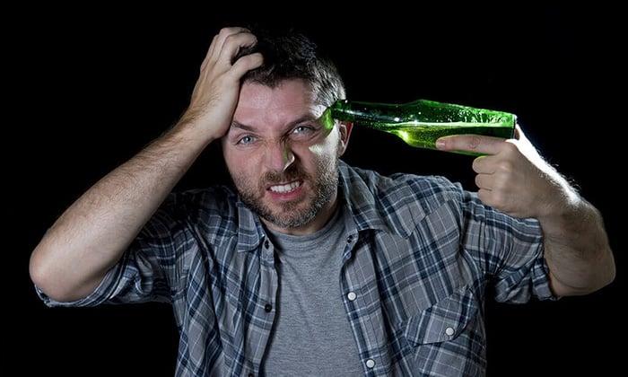 Прием средства Амарил М противопоказан при хроническом алкоголизме