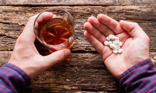 Терапия с использованием Сиофора предполагает полный отказ не только от алкоголя, но и от медикаментозных средств, содержащих этанол
