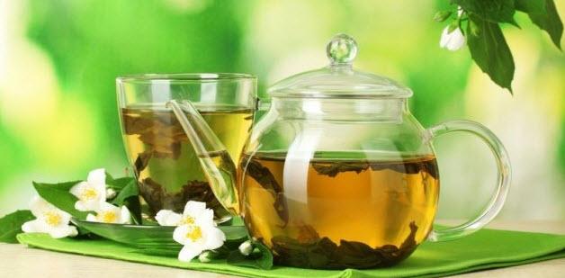 питательный зеленый чай