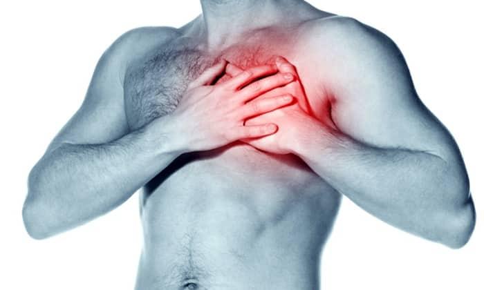 Лекарственное средство Глюкованс противопоказано при острых болезнях сердца