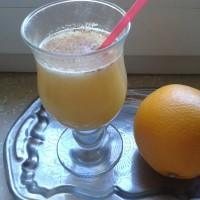 Несколько вариантов апельсинового сока с имбирем