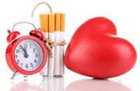 Курение — одна из основных причин развития атеросклероза.