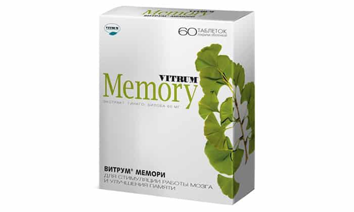 Витрум Мемори улучшает память и умственные способности, содержит витамины
