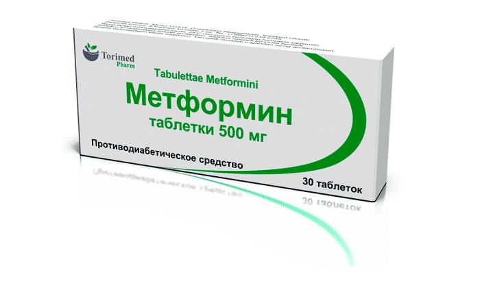 Таблетки Метформина выпускаются с дозировкой 500/850/1000 мг