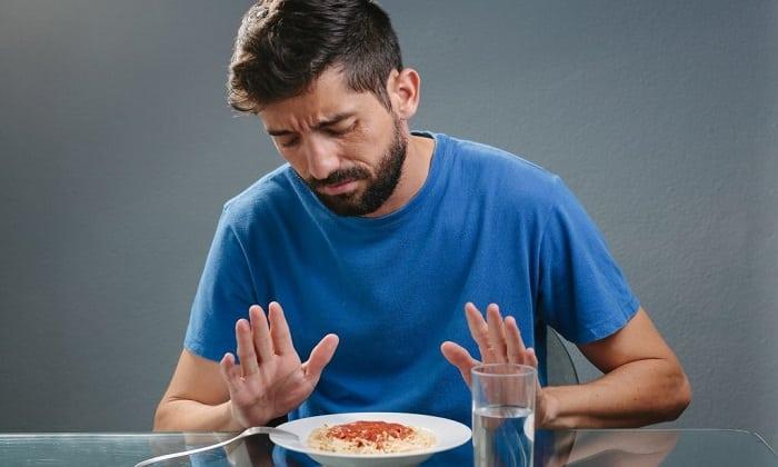 В некоторых случаях может возникнуть негативная реакция в виде отсутствия аппетита