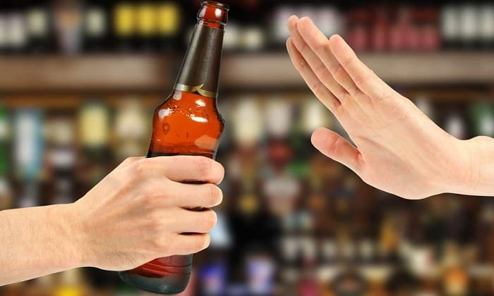 Временно нужно отказаться от спиртного после изменения курса лечения