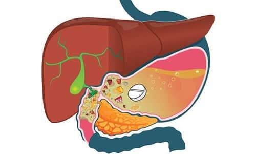 Вещества, входящие в состав таблеток Глюкобай, медленно абсорбируется из желудочно-кишечного тракта