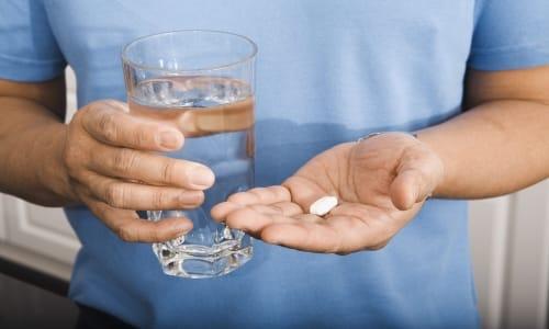 Принимается этот медикамент 1 раз в день, запиваются чистой водой