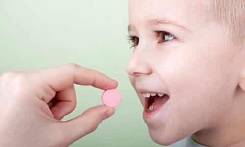 Пероральные формы препарата детям и подросткам не назначаются