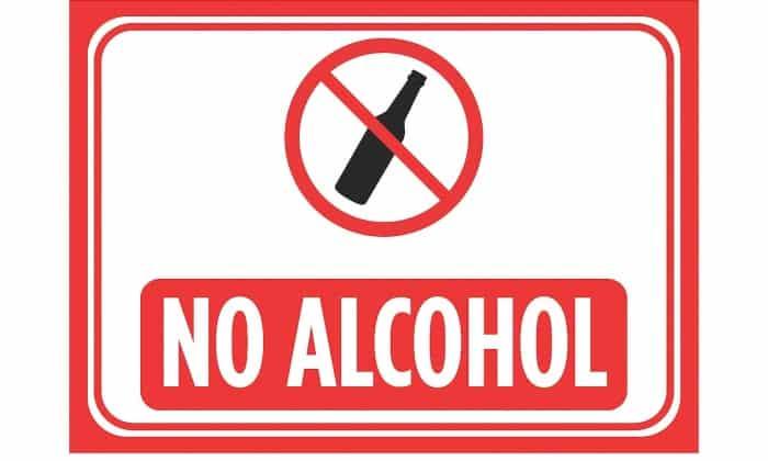 Нельзя употреблять алкогольные напитки в период приема Глюкофажа
