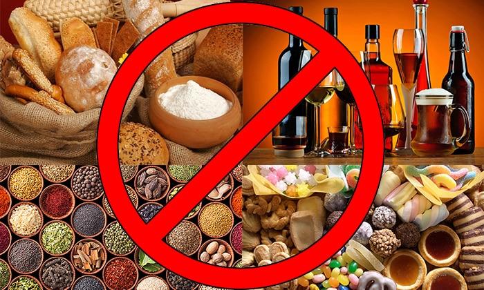 При употреблении спиртных напитков нужно учитывать изменения в диете