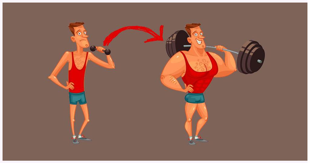 5 шагов как быстро набрать мышечную массу в домашних условиях