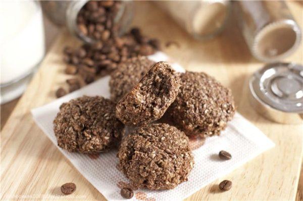 отруби творог печенье