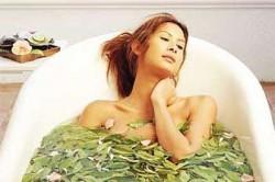Лечебные ванны с листьями хрена