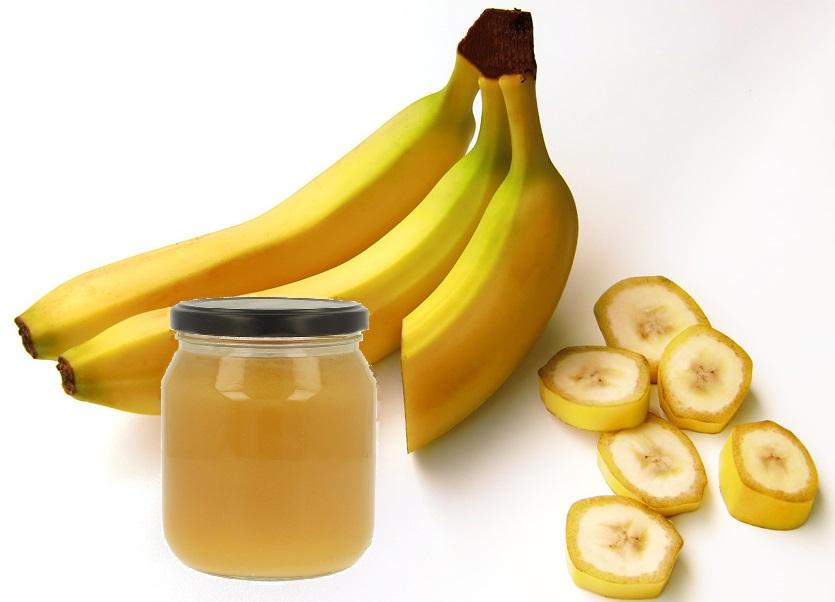 Бананы, пюре