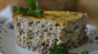 Диетический рецепт гречневой запеканки с грибами