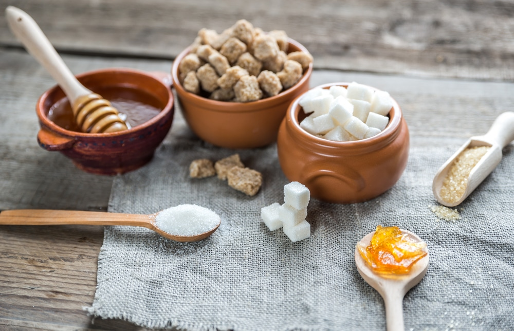 Сахар и натуральный мед