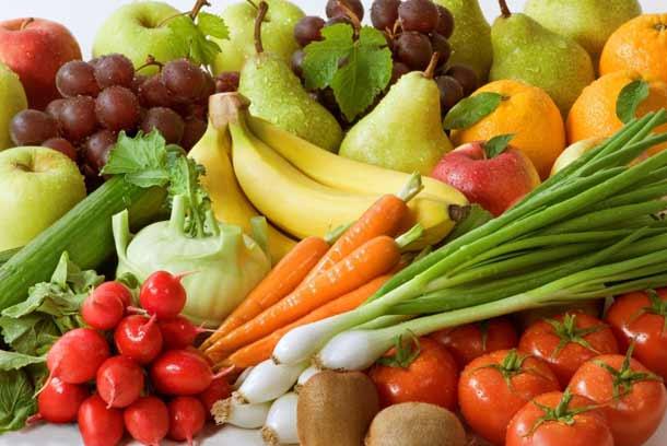 Овощи и фрукты для снижения холестерина