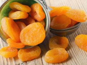 Хранение сушеных абрикосов