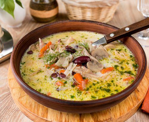 Рецепт суп с кроликом