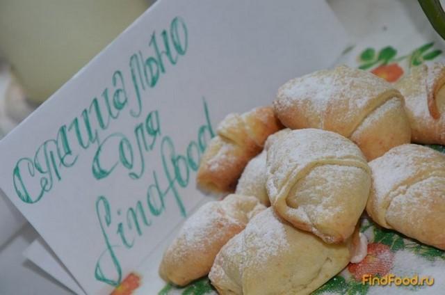 Творожные рогалики с пастилой рецепт с фото 6-го шага