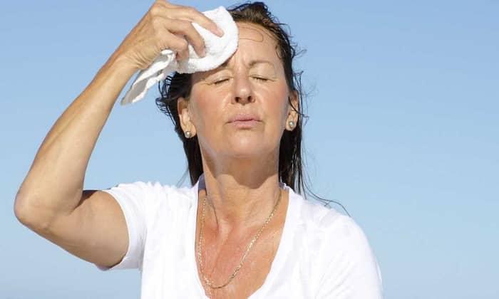 Увеличение потоотделения - побочное действие препарата