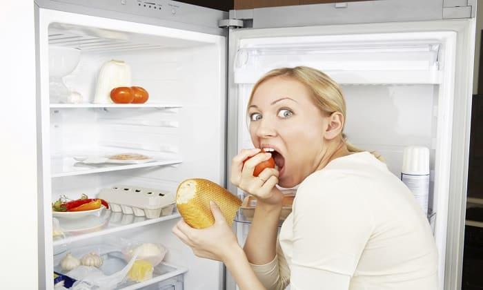 Избыток препарата в организме чреват возникновением чувства голода