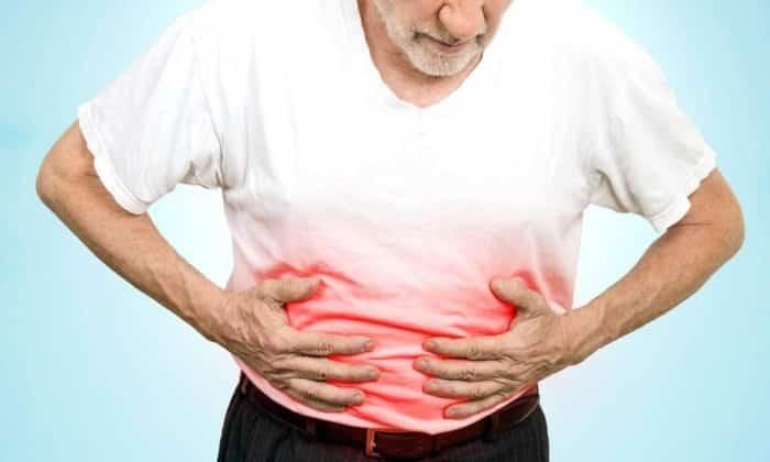 Побочный эффект препарата - аллергические реакции в виде тяжесть в желудке