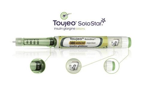 Одновременный прием Туджео СолоСтара с мочегонными препаратами приводит к снижению действия инсулина