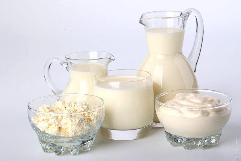 Молоко и нежирная кисломолочная продукция