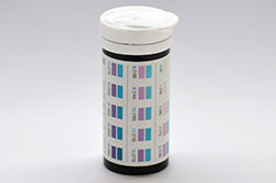 Диапазон измерения глюкозы (сахара) в тест-полосками