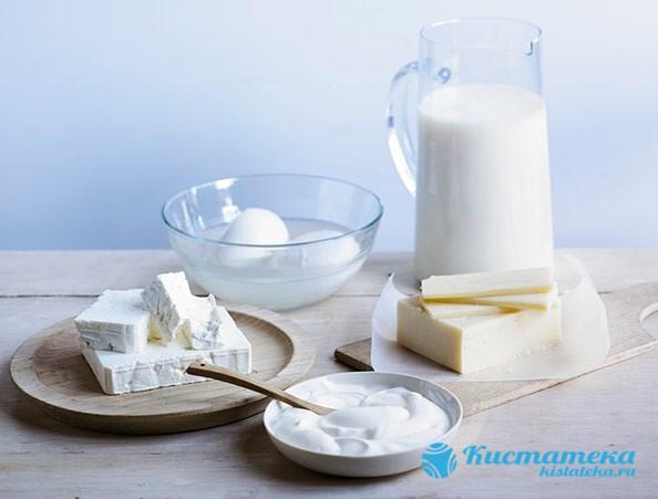 Молочные изделия с низкой жирностью