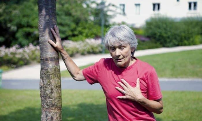 Во время лечения может появляться боль в груди